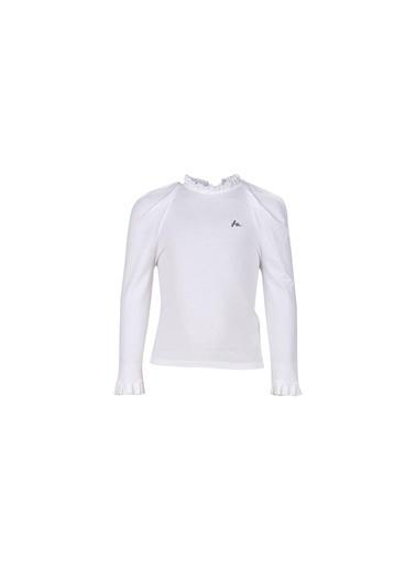 Lia Lea Kız Çocuk Beyaz Bluz 20Fwll03528 Beyaz